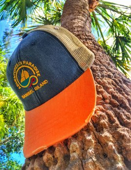 WHISPERING PINES AIP LOGO TRUCKER HAT SANIBEL