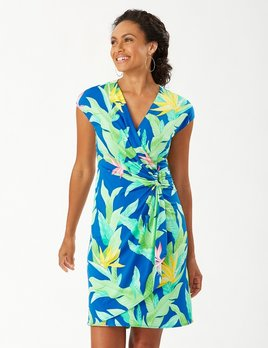 TOMMY BAHAMA Tommy Bahama Nirvana Night Faux Wrap Dress