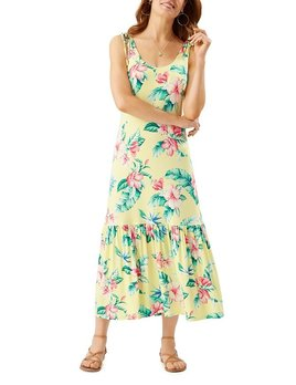 TOMMY BAHAMA Tommy Bahama Floristic Approach Midi Dress