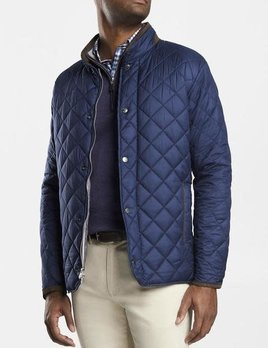 PETER MILLAR Peter Millar Suffolk Quilted Travel Coat