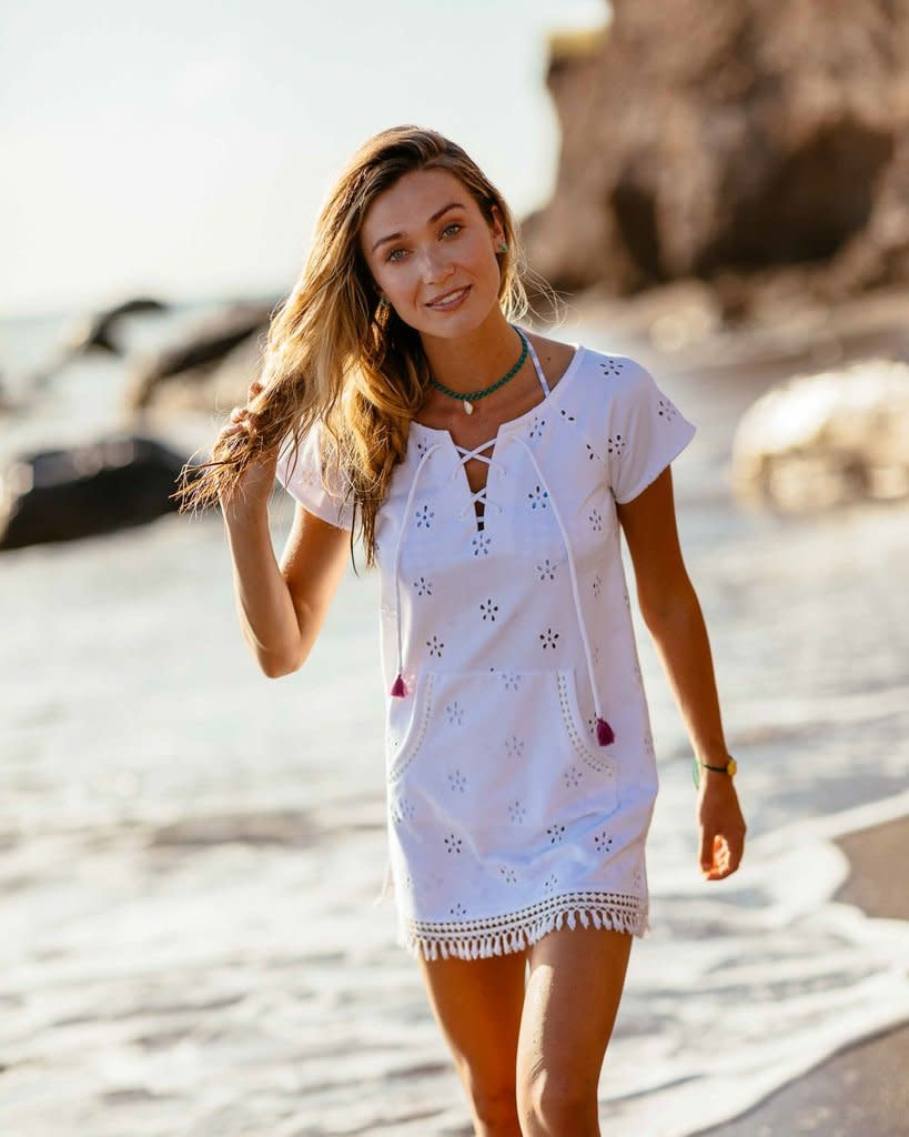 Southern Tide Southern Tide Aimee Cover Up - White