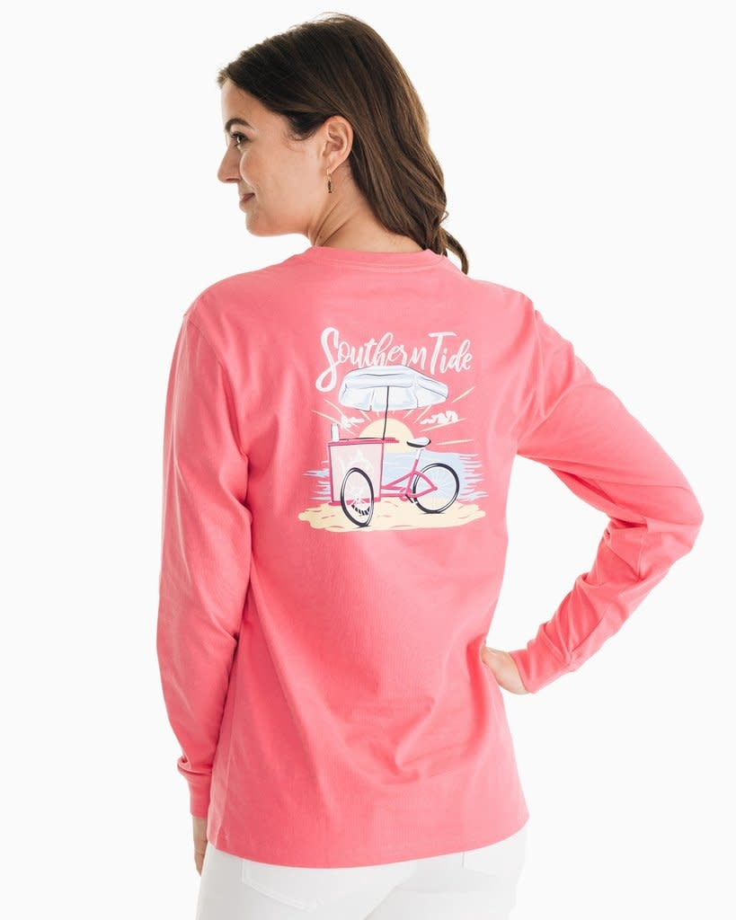 Southern Tide Southern Tide Ice Cream Cart Tee - Island Pink