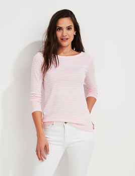 VINEYARD VINES Vineyard Vines Striped Simple Boatneck Tee