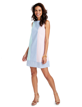 VINEYARD VINES Vineyard Vines Party Seersucker Shift Dress