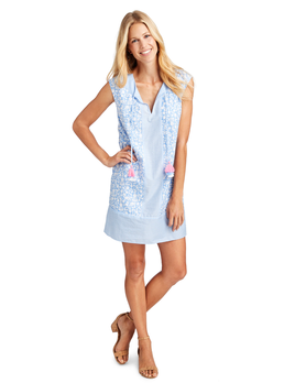 VINEYARD VINES Vineyard Vines Border Otomi Somerset Tunic Dress