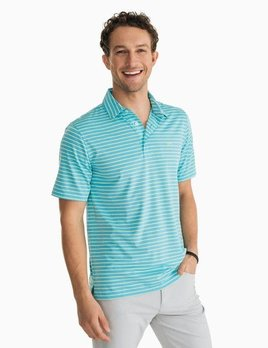 Southern Tide Southern Tide Brrr Driver Heather Stripe Perf Polo - 2 COLORS