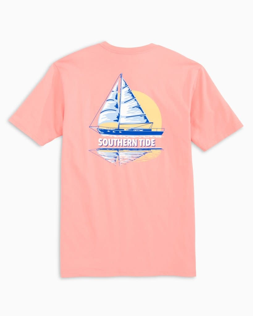 Southern Tide Southern Tide Sunset Sailing Tee
