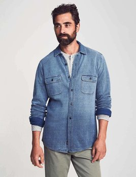 Faherty Faherty Knit Dobby Workshirt