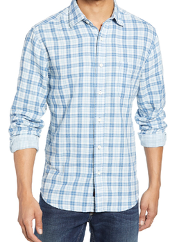 Faherty Faherty Double Cloth Ventura Shirt