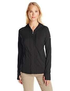 EXOFFICIO ExOfficio Womens Sol Cool Hooded Zippy