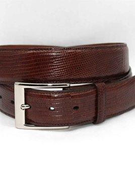 TORINO LEATHER COMPANY Torino Ringmark Lizard Belt