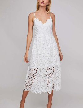 Dex Dex Thin Strap Lace Dress