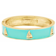 FORNASH Fornash Hinged Tropical Bracelet - Sailboats - Aqua