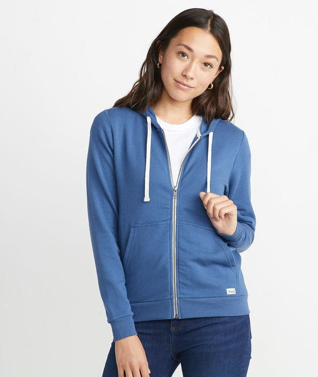 Marine Layer Marine Layer Women's Afternoon Hoodie - Faded Navy
