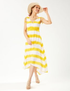 TOMMY BAHAMA Tommy Bahama Set Sail Stripe Maxi Sundress