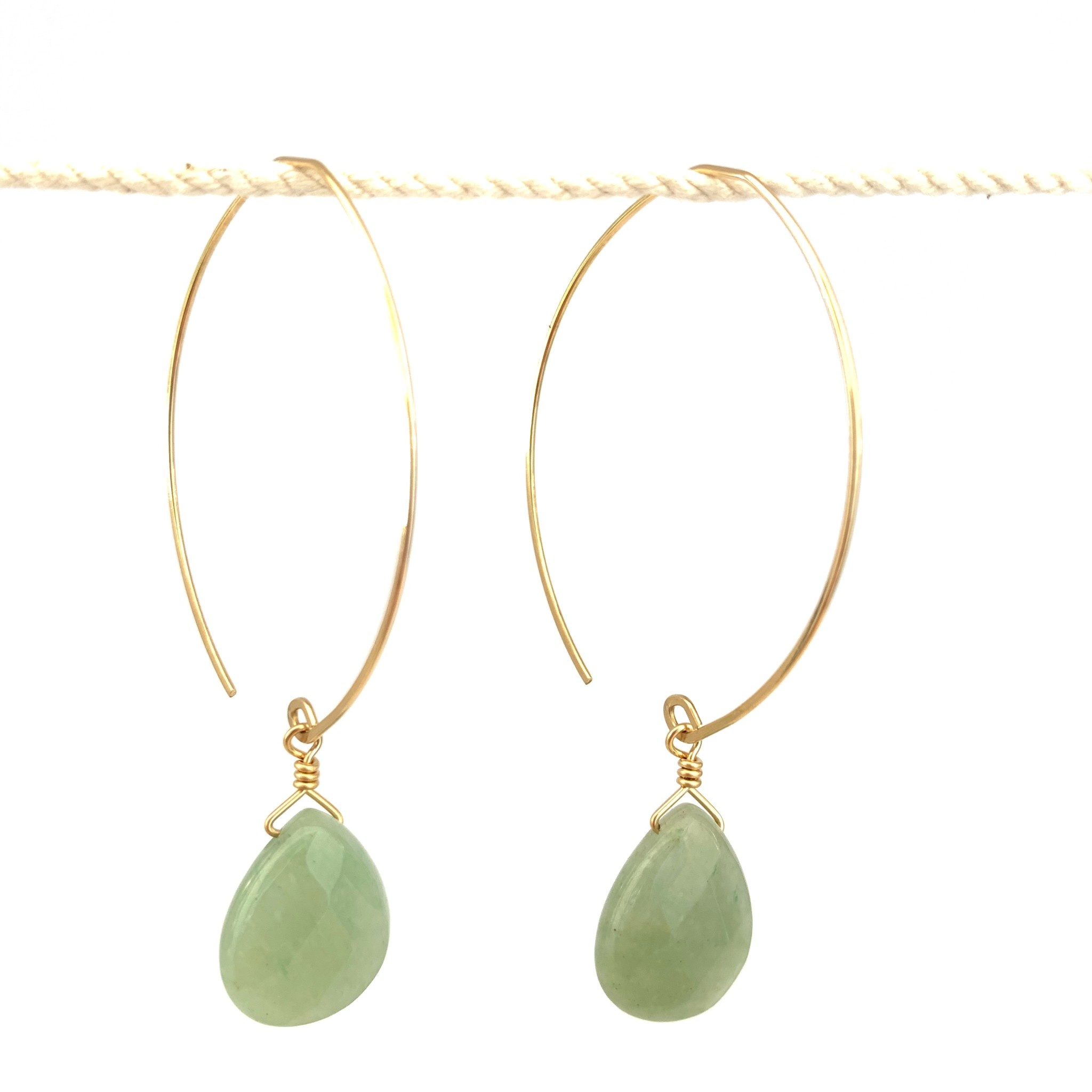 Noon Jewelry Core Collection Earrings - 14k gold fill