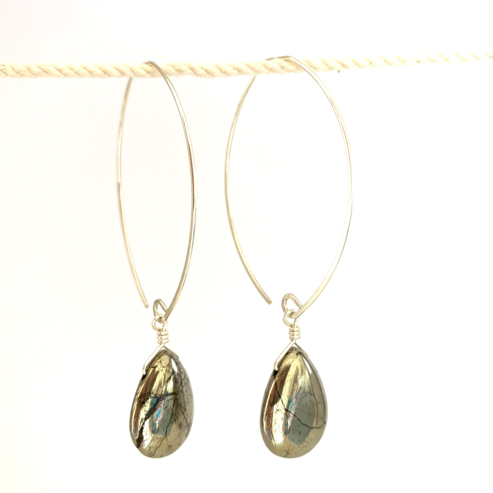 Noon Jewelry Core Collection Earrings - sterling silver