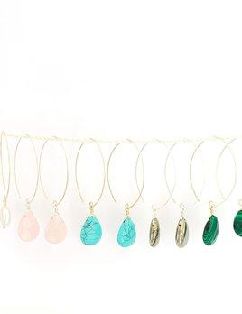 Noon Island Jewelry Earrings - 14k gold fill