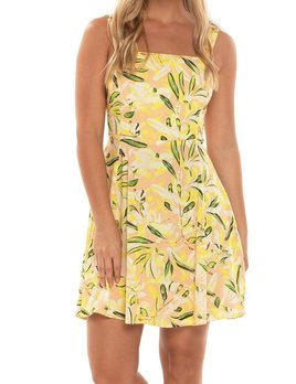 Shore Shore Tie Back Mini Dress