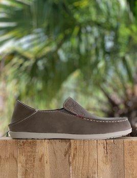OLUKAI OluKai Womens Shoe Nohea Nubuck - BASALT
