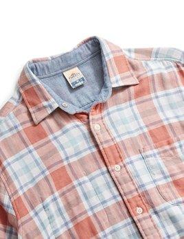 Faherty Faherty Reversible Belmar Shirt - FOLIAGE PLAID