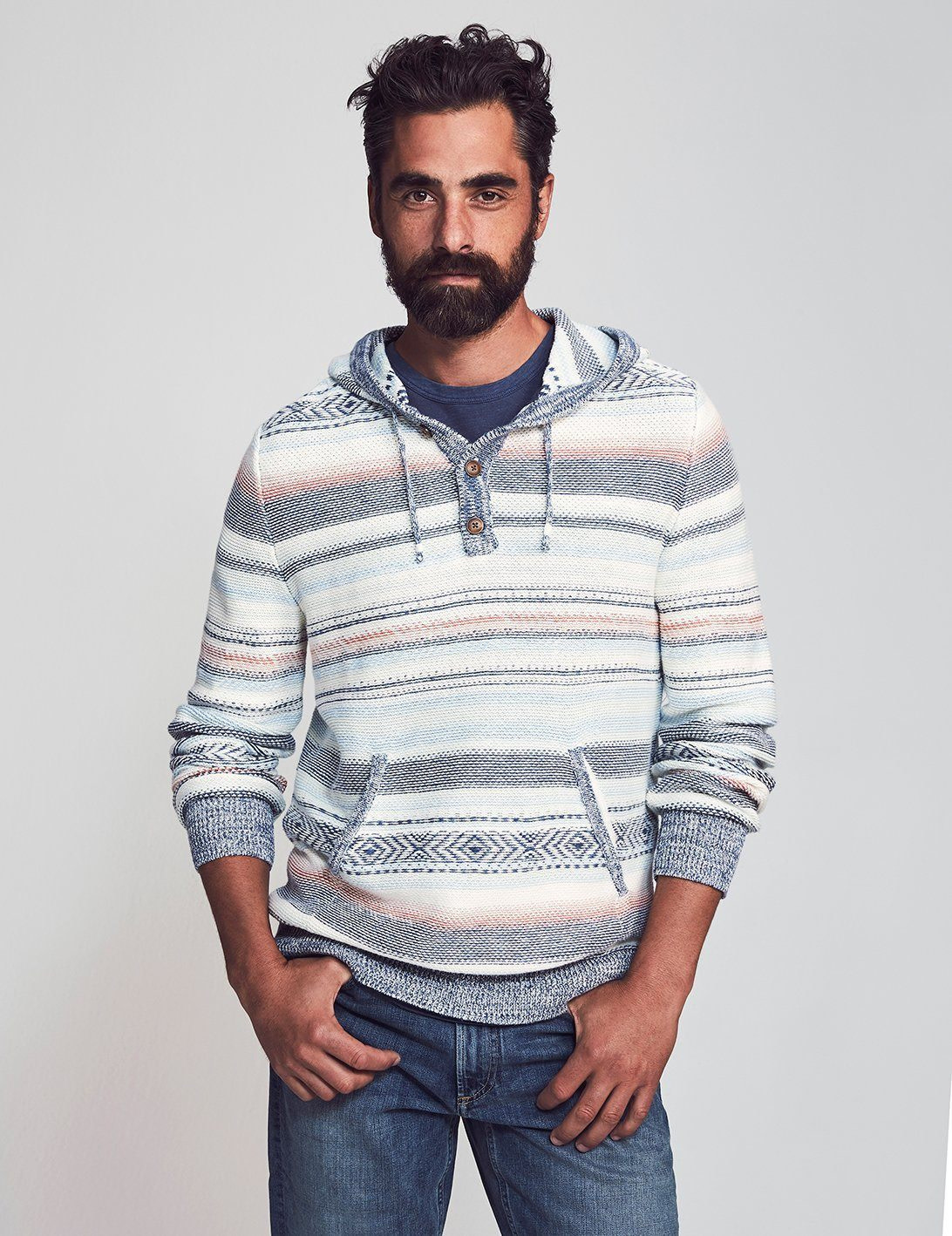 Faherty Faherty Cove Sweater Poncho