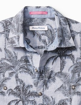TOMMY BAHAMA Tommy Bahama Chambray Shade Button Up