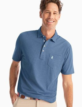 Johnnie-O Johnnie-O Heathered Original Polo Shirt