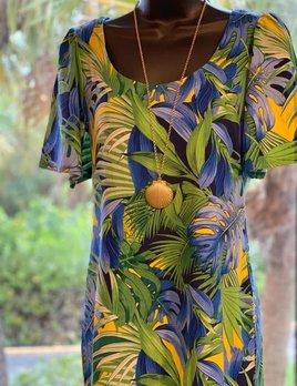 TOMMY BAHAMA Tommy Bahama Hot Tropic Short Dress S/S