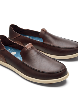 OLUKAI Olukai Nalukai Slip On Leather Shoe