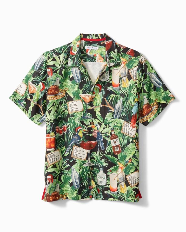 TOMMY BAHAMA Tommy Bahama The 12 Days of Christmas Shirt