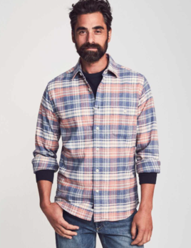 Faherty Faherty Stretch Seaview Flannel