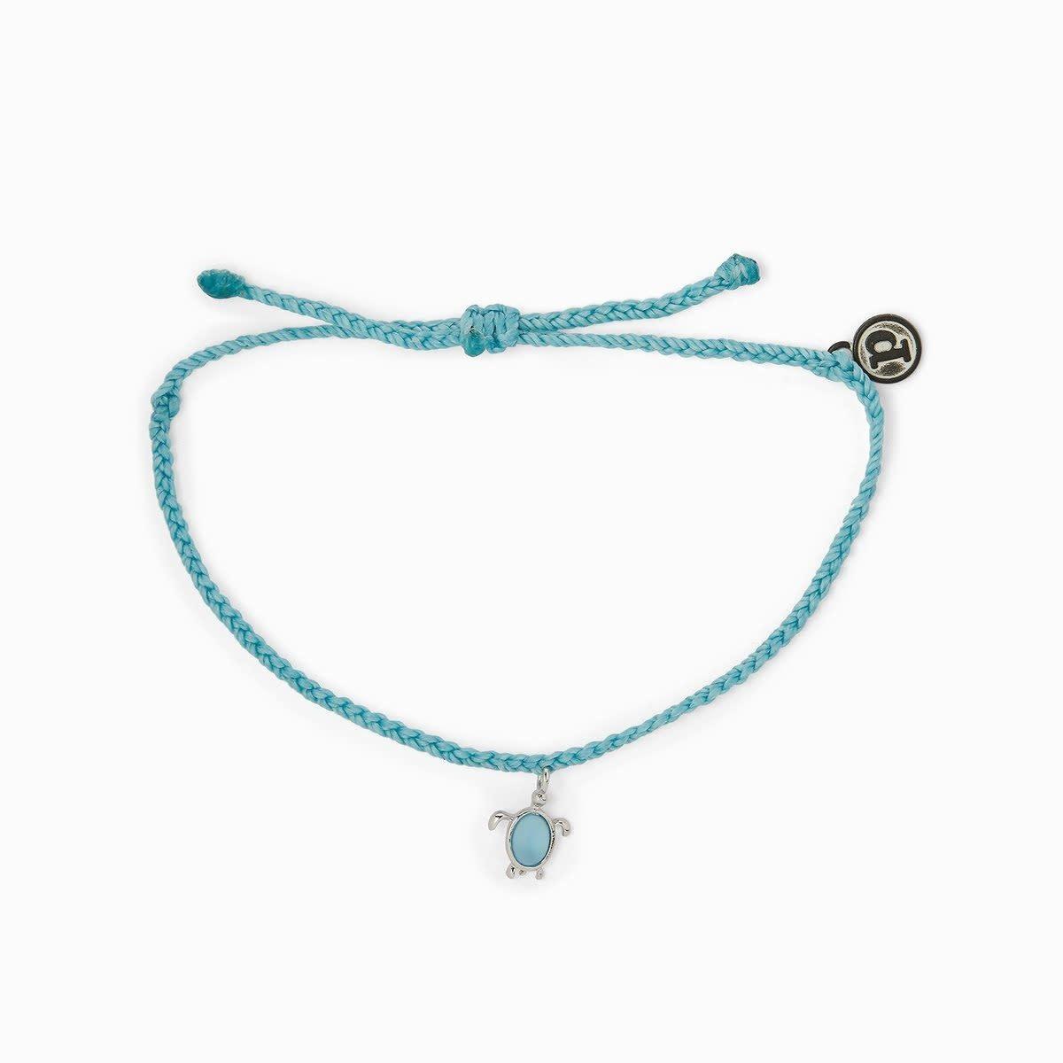 Pura Vida Puravida Sea Turtle Bracelet Silver