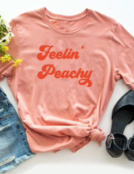 The Funnel Cake Tree The Funnel Cake Tree Feelin' Peachy Graphic Tee