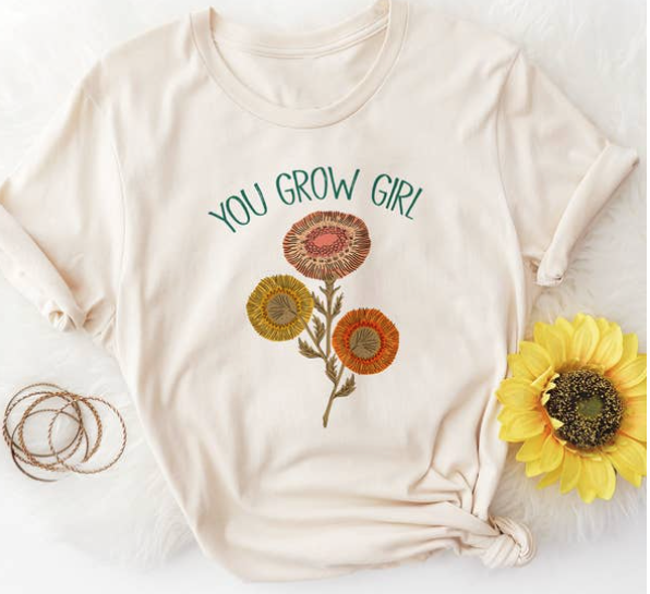 The Funnel Cake Tree The Funnel Cake Tree You Grow Girl Graphic Tee