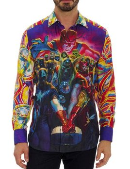 ROBERT GRAHAM Robert Graham Whatever It Takes Button Up