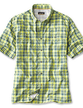 ORVIS Orvis Plaid Casting S/S Casting Shirt - MULTIPLE COLORS