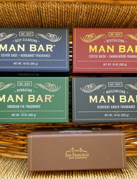 COMMONWEALTH SOAP MAN BAR SOAP