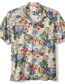 TOMMY BAHAMA Tommy Bahama Disney Mickey Mouse Hawaiian Shirt Jungle Jubilee