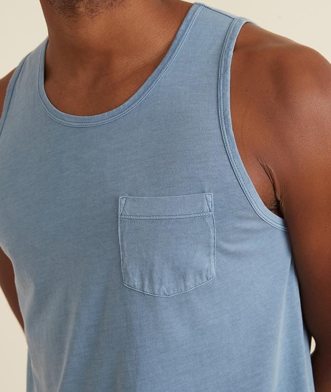 Marine Layer Marine Layer Garment Dye Signature Tank