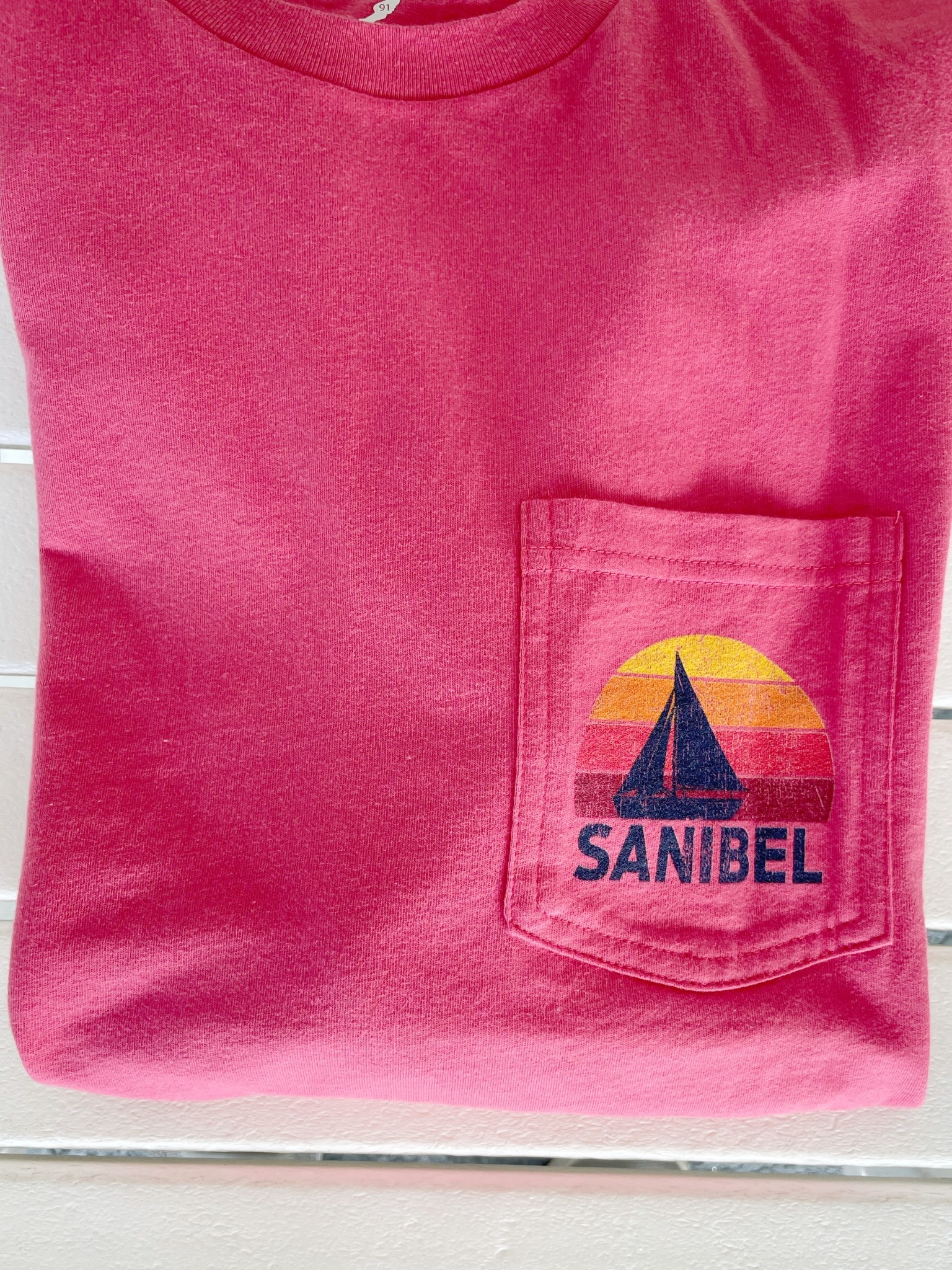 LEGACY AIP Sailboat L/S Pocket Sanibel Tee