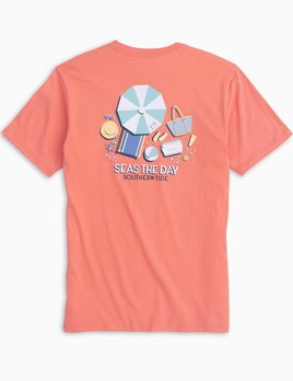 Southern Tide Southern Tide Seas The Day Tee- TWO COLORS