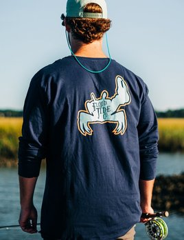 FLOOD TIDE CO Flood Tide Co. Neon Fiddler LS T-Shirt