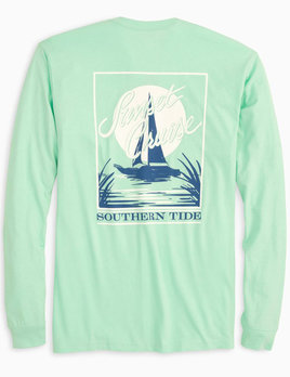 Southern Tide L/S Five Sails Up Tee
