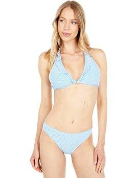 Southern Tide Southern Tide Daisee Seersucker Bikini Top