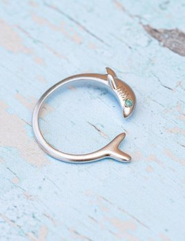 Pura Vida Pura Vida Shark Week Ring