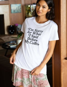 Sub-Urban Riot Sub-Urban Riot Sorry Coffee Loose Tee