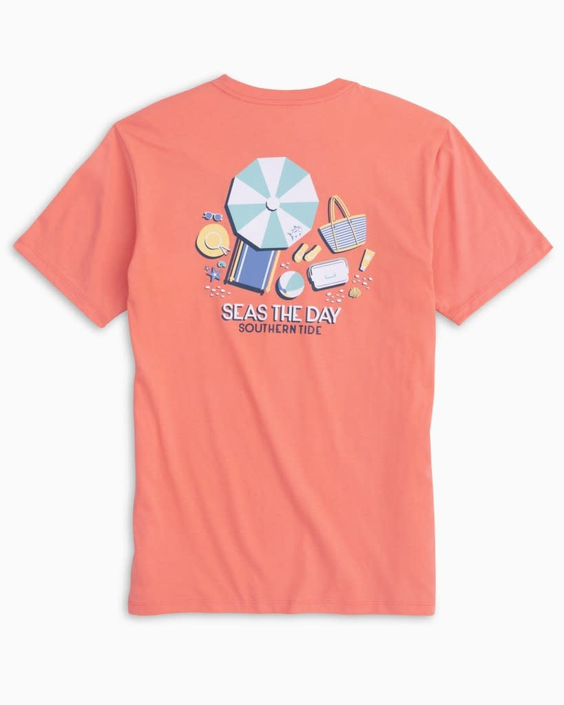 Southern Tide Southern Tide Seas The Day Tee