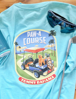 TOMMY BAHAMA Tommy Bahama Paw Four Course Tee