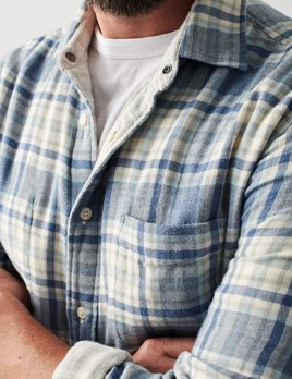 Faherty Faherty Reversible Shirt - Easton Plaid